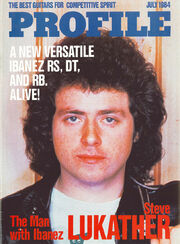1984 July Profile front-cover