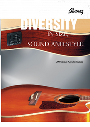 2007 Europe acoustic guitars front-cover