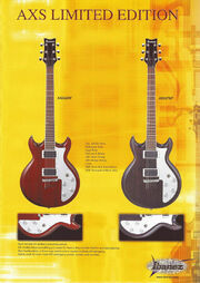 2003 AXS-SRX limited edition flyer p1