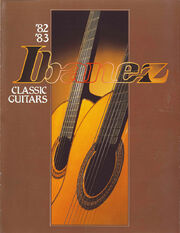 1982-83 Classical Guitars front-cover