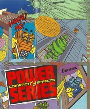 1986 Japan Power series effects poster front-cover