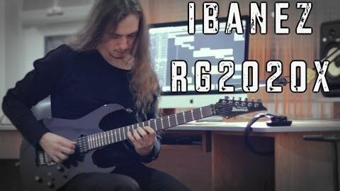 Ibanez RG2020X Playthrough