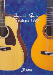 1998 Europe acoustics leaflet front-cover