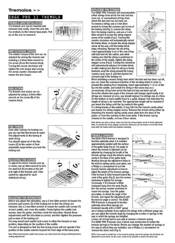 Edge Pro II instructions