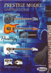 2003 Prestige limited edition flyer p1