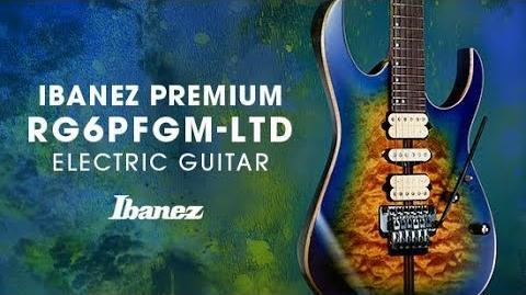 Ibanez Premium - RG6PFGMLTD Electric Guitar
