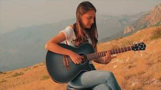 Ibanez AEG50 Acoustic Guitar featuring Martina Blazeska