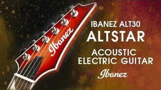 Ibanez Altstar ALT30 - Acoustic Electric guitar