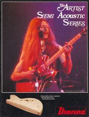 1980 Artist semi-acoustics front