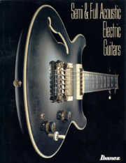 1988 Hollow body electric guitars front-cover