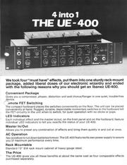 1980 UE-400 dealer sheet front
