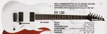 1990 EX120 WH