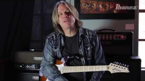 Andy Timmons on the features and design of his AT10P Ibanez signature model
