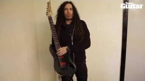 Me And My Guitar interview with Korn's James 'Munky' Shaffer Ibanez APEX200 and APEX20