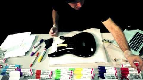 Joe Satriani 25th Anniversary Ibanez JS Guitar Project