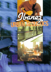 1999 Urban Acoustics poster front-cover