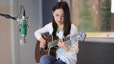 Ibanez Acoustic AE Junior - AE245JR featuring Martina Blazeska