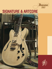 2007 USA Signature Artcore catalog front-cover