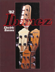 1982 Ibanez Basses front-cover
