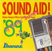 1989 Japan Sound Aid poster front-cover
