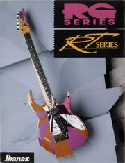 1992 RG-RT series catalog front-cover
