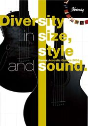 2008 EU acoustic catalog front-cover