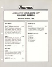 1987 USA price list p1