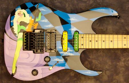 1991 UCGR3 Guitar Ecstasy closeup
