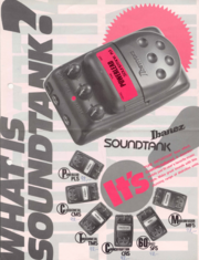 1989 Soundtank brochure front