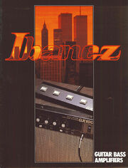 1983 Guitar Bass Amplifiers front-cover
