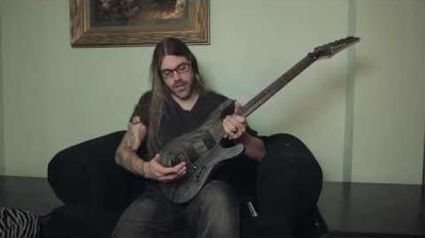 Paul Waggoner on his Ibanez PWM10 signature guitar