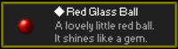 Red Glass Ball
