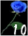 Garry's Blue Rose