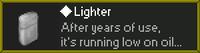 Lighter des