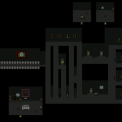 A map of the second room in the Gray Area