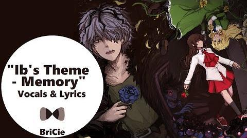 "【BriCie】 Ib's Theme - ""Memory"" Piano Ver. (Vocal Cover) 【Ib】"