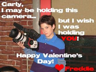 Freddies Cute V-Day Card