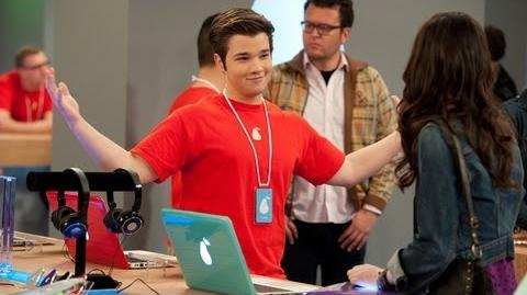 "Jennette McCurdy & Nathan Kress Talk ""iPear Store"" Episode of ""iCarly"""