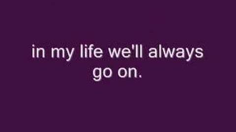 My Heart Will Go On (Titanic Theme) with lyrics