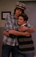 Fencer hug