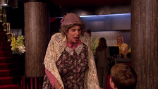 Spencer old lady disguise