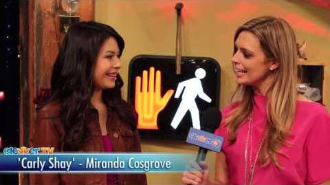 """iCarly"" Cast Talks ""iRescue iCarly"" Episode - Miranda Cosgrove, Jennette McCurdy"