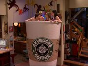 Carly, Spencer and Friends take a Coffee Bath