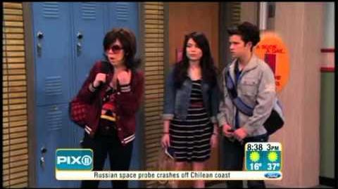 PIX11 interviews iCarly cast during special screening for military families