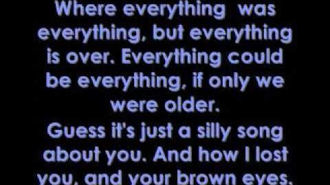 Brown Eyes - Lady GaGa Lyrics