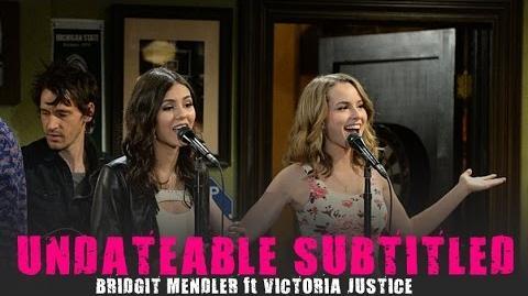 UNDATEABLE (Acoustic Version) Bridgit Mendler ft Victoria Justice