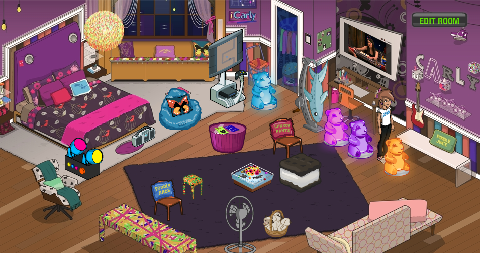 icarly bedroom. My Nick Room png Image  iCarly Wiki FANDOM powered by Wikia