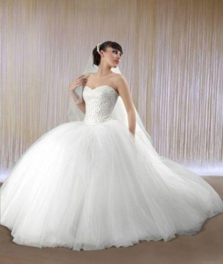 Strapless Puffy Wedding Dresses Jpg