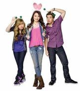 Miranda,Jennette e Nathan