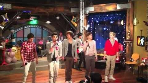 One Direction - What Makes You Beautiful on iCarly